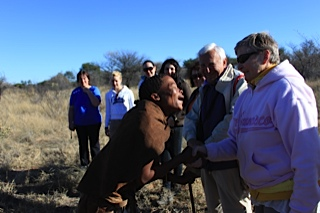 My Morning with the Real Bushmen of the Kalahari Desert