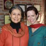 Founder Terri Wingham with Harmala Gupta of CanSupport