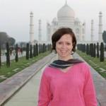 Founder Terri Wingham - Taj Mahal Feb 2012