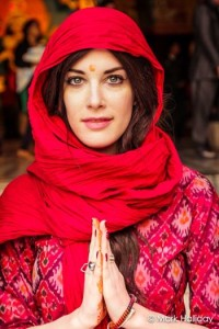 Melissa in India 2013