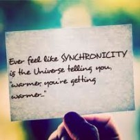When Synchronicity Shows Up Just In Time