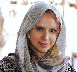 Ashley Myers-Turner in India