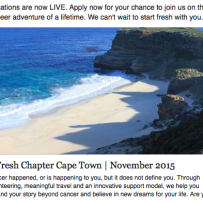 Apply Now to Join us in Cape Town for the Volunteer Adventure of a Lifetime