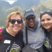 Connections. Wanda Lucas on Returning Home From Peru